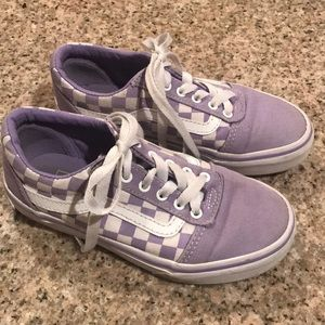 Lilac/purple vans size 13 girls